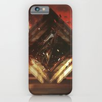 iPhone Cases featuring Intervention 16 by Viviana Gonzalez