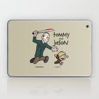Tommy And Jason Laptop & iPad Skin