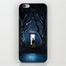 Doors Of Tardis iPhone & iPod Skin