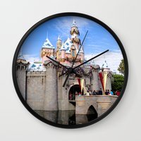 Sleeping Beauty's Holida… Wall Clock
