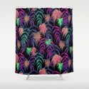 New Palm Beach - Winter Shower Curtain