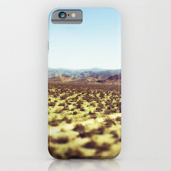 Joshua Tree Panorama III iPhone & iPod Case