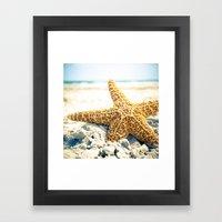 Atlantic View Framed Art Print