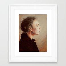 the hours Framed Art Print