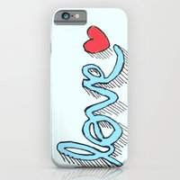 iPhone & iPod Case featuring Love by Fatimah khayyat