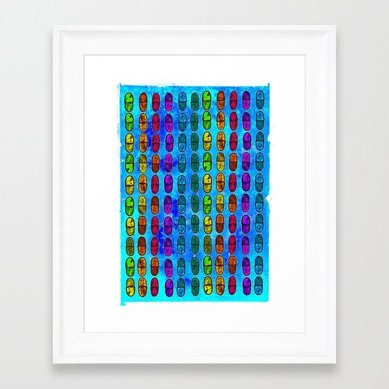 Oh-See-Dee Framed Art Print