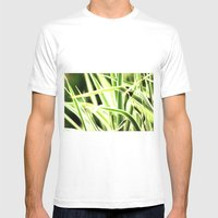 Grasses Mens Fitted Tee White SMALL