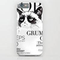 Grumpy the cat iPhone 6 Slim Case