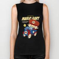 Mario Kart Vintage Biker Tank