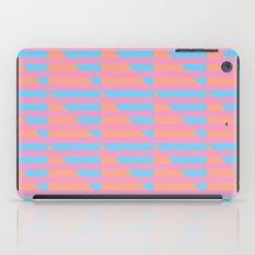 Pink Blue Peach Houndstooth /// www.pencilmeinstationery.com iPad Case