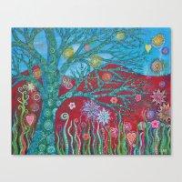 Happy Tree Canvas Print