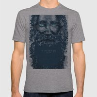 Old Man Mens Fitted Tee Athletic Grey SMALL
