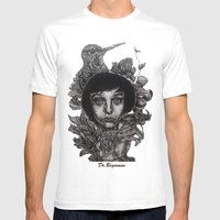 Nature By Davy Wong Mens Fitted Tee White SMALL