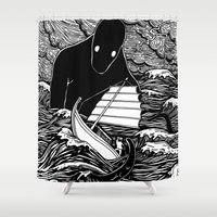 Umibōzu 海坊主 Shower Curtain