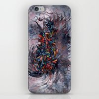 Abstract Wash 3 iPhone & iPod Skin
