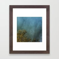 First Flurries Framed Art Print