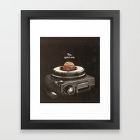 The Quiet One Framed Art Print