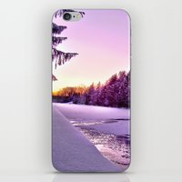 Frozen Voyage iPhone & iPod Skin