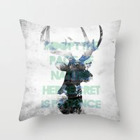 Adopt The Pace Of Nature… Throw Pillow