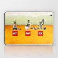 EAT SHIT RUN CYCLOPS LEGO Laptop & iPad Skin