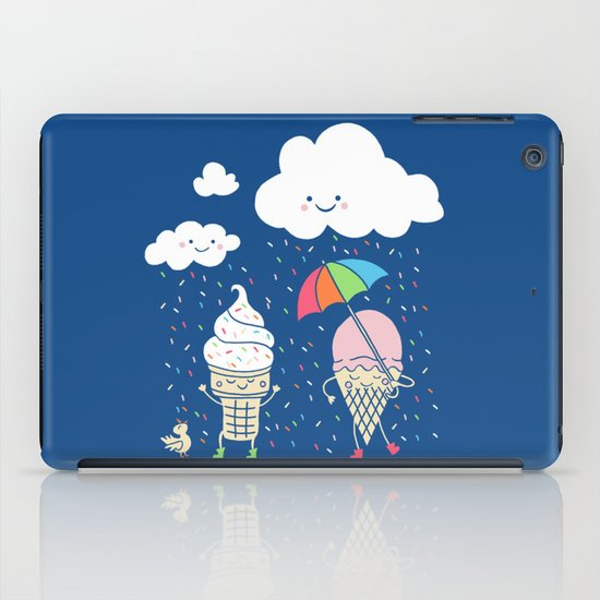 Cloudy With A Chance of Sprinkles iPad Case