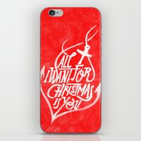 All I Want For Christmas… iPhone & iPod Skin