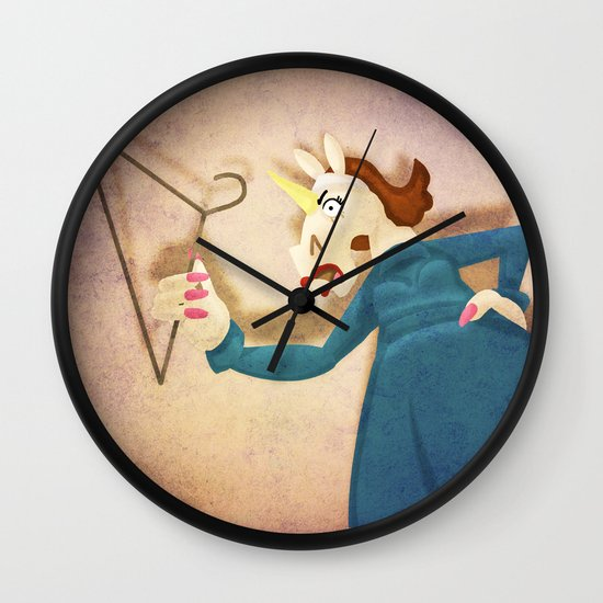 No More Wire Hangers!!! Wall Clock