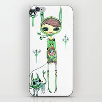 Punk Gree iPhone & iPod Skin
