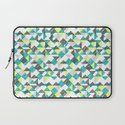 scribble triangles Laptop Sleeve