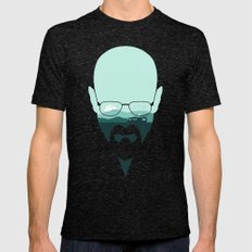 Heisenberg Mens Fitted Tee Tri-Black SMALL
