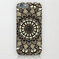Sepia Mandala iPhone 6 Slim Case