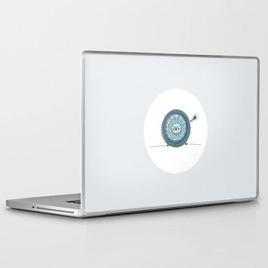 little ball of fur Laptop & iPad Skin