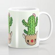 Cute Cactus Rudolph! Mug