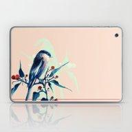 Hashtag Blue Bird Laptop & iPad Skin