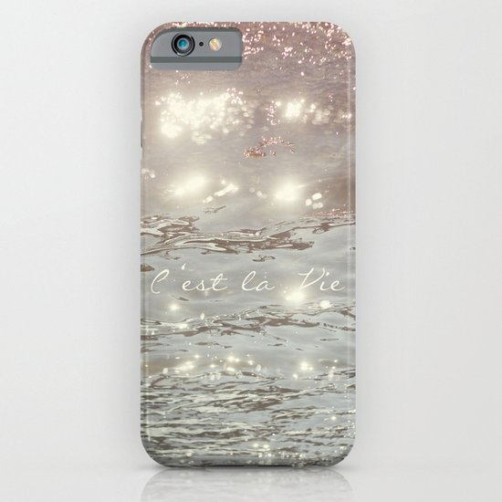 C'est La Vie II iPhone & iPod Case