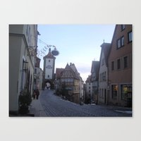 Rotenburg Germany Canvas Print