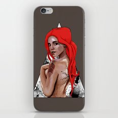 Kraken Girl iPhone & iPod Skin