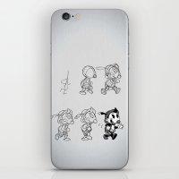 Cartoon Character Step B… iPhone & iPod Skin