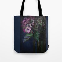 Autumnal Hydrangea Tote Bag