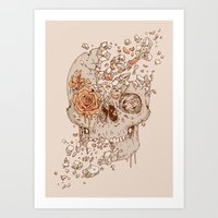 Disintegrate (A Violent Decay):  The Fragile Intensity of Existence Art Print