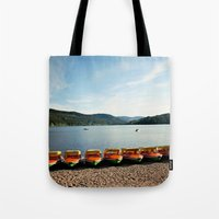 Bavarian Lake Tote Bag