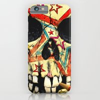 iPhone & iPod Case featuring skull by gazonula