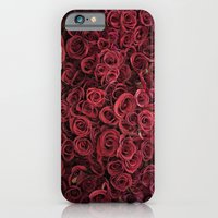 iPhone & iPod Case featuring Flower Market 3 - Red Roses by CMcDonald