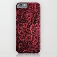 Flower Market 3 - Red Ro… iPhone 6 Slim Case