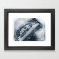 Modeled Framed Art Print