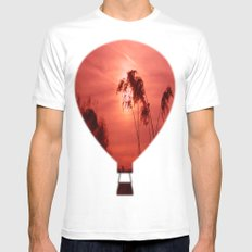 Dawn Mens Fitted Tee White SMALL