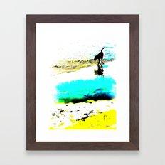 Beachcomber Framed Art Print