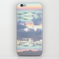 Pastel Ocean Sky iPhone & iPod Skin