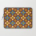 Cute Colourful Floral Patterns Laptop Sleeve