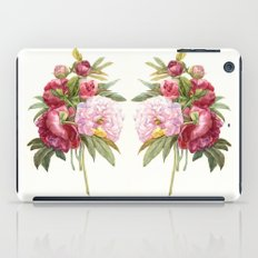 Passion peonies iPad Case